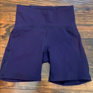 Lululemon biker shorts